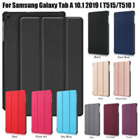 """Case For Samsung Galaxy Tab A 10.1"""" T510 T515 2019 Smart Cover Magnetic Leather"""