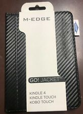 M-Edge Go Jacket Case for Kindle 4, Kindle Touch, Black, New with Free Shipping