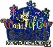 Disney Park Collection- California Adventure- World of Colour Tinker Bell & Logo