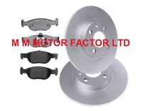 OEM SPEC FRONT DISCS AND PADS 256mm FOR FIAT GRANDE PUNTO 1.4 2006-10