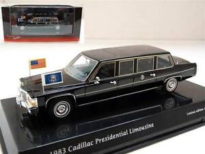 True Scale 1983 Cadillac President Reagan Limousine 1/43 Limited Edition Limo