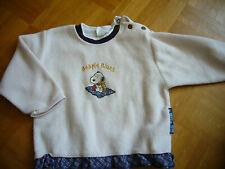 aus USA schöner warmer Pullover von PEANUTS, Gr. 86, Beagle Blues Snoopy