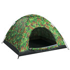 Outdoor 2-4 Person 4 Season Camping Hiking Waterproof Folding Tent Camouflage χ