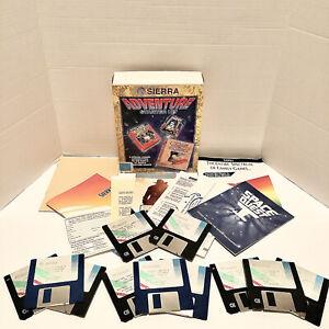 Sierra Adventure Starter Kit Space Quest I, Leisure Suit Larry I, King's Quest I