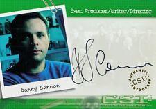 CSI SEASON 1 2003 STRICTLY INK AUTOGRAPH CASE TOPPER CARD DANNY CANNON CSI-A20 B