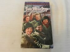 Four Jills in a Jeep (VHS, 1995) Phil Silvers, Kay Francis, Martha Raye