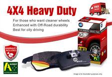 Toyota RAV-4 GSA33 3.5V6 4WD 4D Wagon (275mm D) 2007 - 2013 Front Brake Pads 4X4