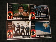 The Soldier movie promo lobby card set of 4 of 8 -