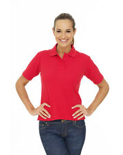 Uneek UC106 Ladies Polo Shirt - Sizes 8 - 22 - Womens Casual Classic Work Top