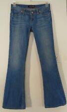 LEVI'S Womens Ultra Low-Rise FLARE Jeans Size 7 Medium 32 x 32 NICE!!