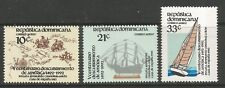 STAMPS-DOMINICAN REPUBLIC. 1983. Columbus Regatta Set. SG: 1543/45. MNH.
