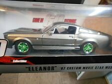 FORD Shelby Mustang GT 500 E 1967 ELEANOR Kino TV Gone in 60 Sec Greenlight 1:24