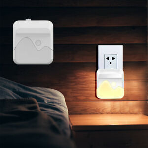 Dimmable LED Child Safety Night Light UK Plug in Low Energy Saving Dusk Dawn