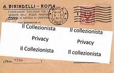 A. Birindelli - Roma - Concessione Esclusiva Vendita Acqua Fiuggi - 1913