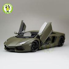 1/18 Lamborghini Aventador LP700-4 Welly 18041 Diecast Model Army Green