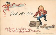 B90/ Valentine's Day Love Holiday Postcard 1904 Cleveland Ohio E Curtis Signed42