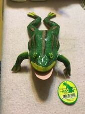 Green Frog Figurine Yardwork Originals Springy Arms And Legs