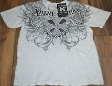 Extreme Couture Men's 2 Sided Graphic T-Shirt Tee Size XL SMASH
