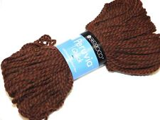 CHIPOTLE BROWN 100gr Skein 103yd Berroco PERUVIA QUICK Pure WOOL Soft SBlky YARN