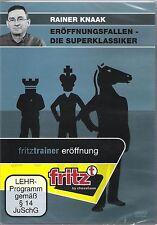 ChessBase Knaak - Eröffnungsfallen - Die Superklassiker - fritztrainer Eröffnung