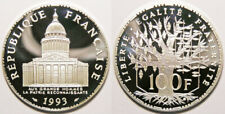 FDC : Splendide 100 francs PANTHEON argent 1993 BE neuve