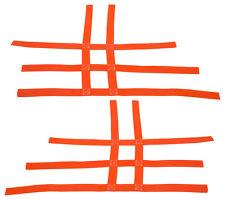 Kawasaki KFX 450R 450 Nerf Bar Nets  Fits Alba Tusk  Orange    B