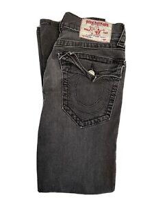 True Religion Jeans Joey Super T Black Size 29