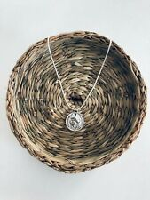 Wanderers sterling Silver Boho Coin Necklace
