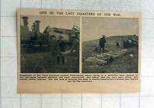 1902 Train Accident Outside Pietersburg Owing To Defective Axel