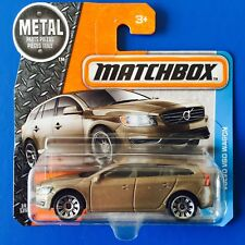 NEW 2017 Matchbox GOLD 2017 VOLVO V60 SPORTS WAGON - mint on short card!