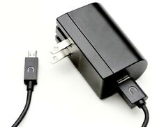 Original Barnes & Noble Nook LED Color Charging Cable Cord & USB Power Adapter