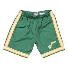Utah Jazz 1979 NBA Mitchell & Ness Road Verde Swingman Pantalones Cortos Para Hombre