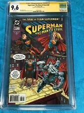 Superman: Man of Steel #87 - DC - CGC SS 9.6 NM+ - Signed by Doug Mahnke