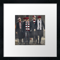 "Hearts FC (fans) prints and canvas Example shown 10"" framed print £21.50)"