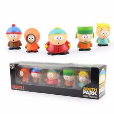 Set Anime South Park Stan Kyle Eric Kenny Leopard Mini Action Figure Model Toy