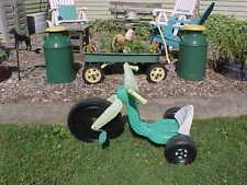 "Vtg 16"" BIG WHEEL Kids Ninja Turtle Pedal Bike Trike Tricycle Pick Up Maryland"