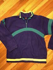 80s Vtg Zero Proof Heavy Ski Fleece Pullover Mens Large Retri Ski 90s Suit Snow