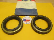 1971 1972 1973 1974 1975 1976 Buick Oldsmobile 1236163 Rear Wheel Seal USA SET 2