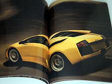 Original Lamborghini Murcielago 52-Page Sales Brochure Catalog 2001 MINT