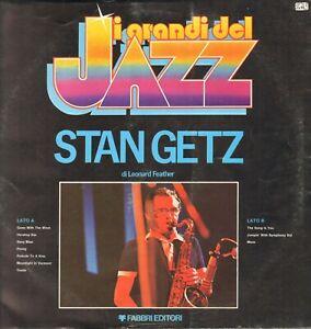 Stan Getz - I Grandi Del Jazz n.33 1979 Fabbri Editori - GdJ 33 - Italy