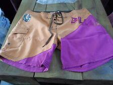"Billabong Girls Shorts size 34"" waist (size 3 in label) Pink / Orange"