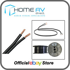 QED 42 Strand 100m REEL OFC Speaker Cable High Quality Copper- Black   C-42/100B