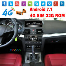 """10.25"""" Android 7.1 Car GPS for Mercedes Benz E coupe Class W212 2 Door 2010-2012"""