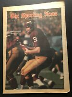 1968 Sporting News WASHINGTON REDSKINS Sonny JURGENSEN Carroll DALE Packers