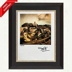 Salvador Dali - Autumn Cannabalism, Original Hand Signed Print with COA