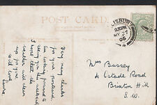 Genealogy Postcard - Family History - Bussey - Brixton Hill - London  BT878