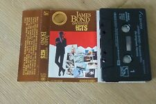 Cassette K7 Tape James Bond Grootste Hits Libertry Holland 1A 264-83238