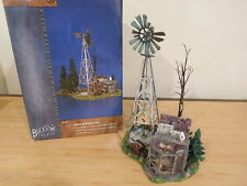 Dept 56 Snow Village - Buck's County Windmill By The Chicken Coop