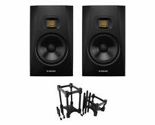 2x ADAM T7V Active Studio Monitor Powered Speaker + IsoAcoustics Decoupler Stand