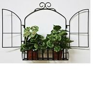 Portavasi da giardino decorativi ebay - Porta vasi in ferro battuto ...